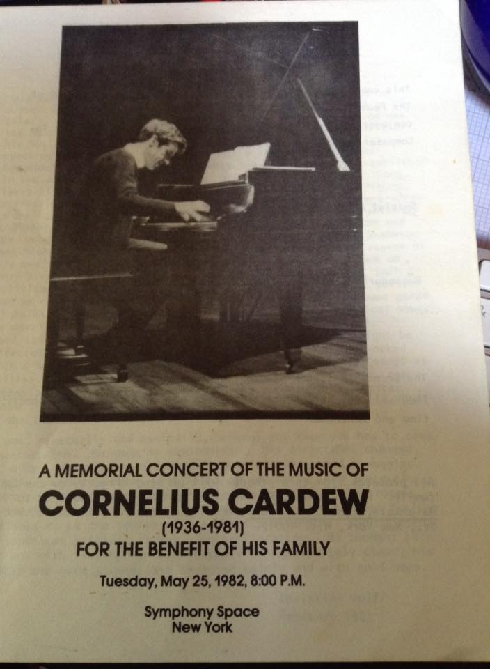 cardew ny memorial cover